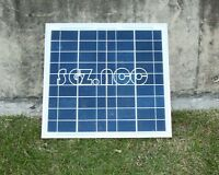 10W Watt polyCrystalline Cells Solar Panel 12V poly solar module Battery Charger