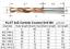 KLOT 5D Coolant Thru TiCN Coated HRC65 Drill Bit 3.2mm-6mm Solid Carbide 2-Flute