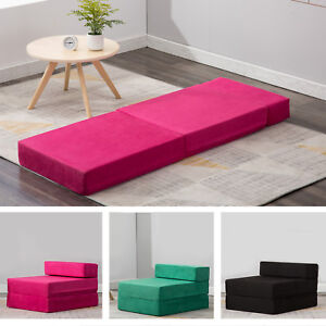 Image Is Loading Sleeper Chair Folding Foam Bed Mattress Floor Ottoman