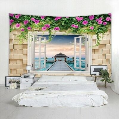 Adatto Anche Come Telo da Spiaggia per Il Soggiorno o la Camera da Letto da Parete Decorazione Domestica 150x130cm Perfetta Decorazione di Casa DOMDIL-Arazzo