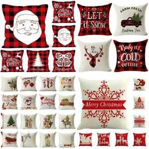 18-034-Christmas-Cotton-Linen-Throw-Pillow-Case-Sofa-Waist-Cushion-Cover-Home-Decor