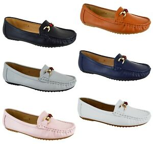 fce4430329 Image is loading LADIES-WINTER-COMFY-FLAT-SHOES-WOMENS-DESIGNER-LOAFER-