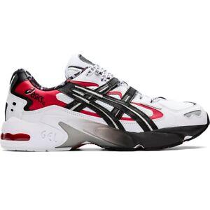 Asics-1021A182-100-Gel-Kayano-5-OG-White-Black-Men-039-s-Running-Shoes