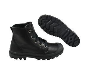 Schwarz Schuhe Black Palladium sneaker Leder Pampa Leather Hi 7AFxnxTY4