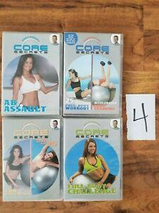 lot-4-GUNNAR-PETERSON-039-S-Core-Secrets-DVD-ball-workouts-Full-Body-AB-Assault-Core
