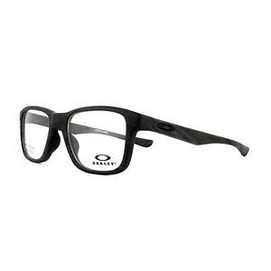 Oakley-Monturas-de-Gafas-Recorte-Lima-OX8107-02-Negro-Pulido-53mm-Hombre