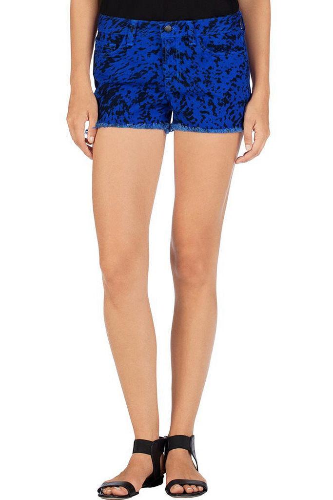 J BRAND Women's Denim SR9033T142 Low Rise Mini Shorts bluee Size 25  165 BCF811