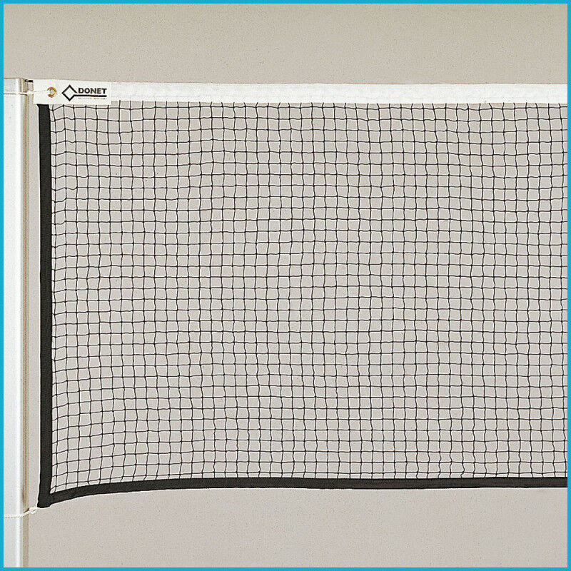 Badminton Turniernetz DIN EN 1509 1509 1509 Turnier Netz 6 02 x 0 76 Nylon Schwarz 1511f7