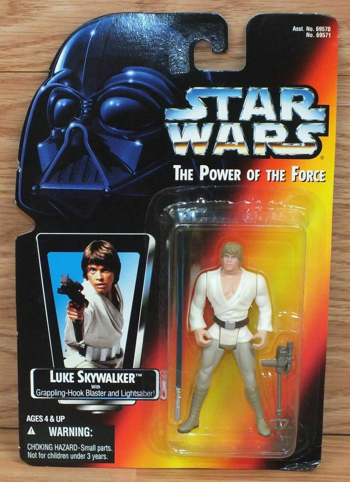 Kenner Star Wars - Power of the Force 1995 Luke Skywalker Power F X Action Fig