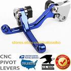 For Yamaha YZ125/250/F/YZ426F/450F/YZ250X/TTR250 Pivot Brake Clutch Levers Set