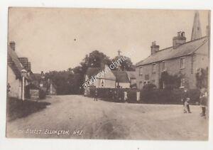 High Street Ellington Huntingdonshire Vintage Postcard 685b - Aberystwyth, United Kingdom - High Street Ellington Huntingdonshire Vintage Postcard 685b - Aberystwyth, United Kingdom