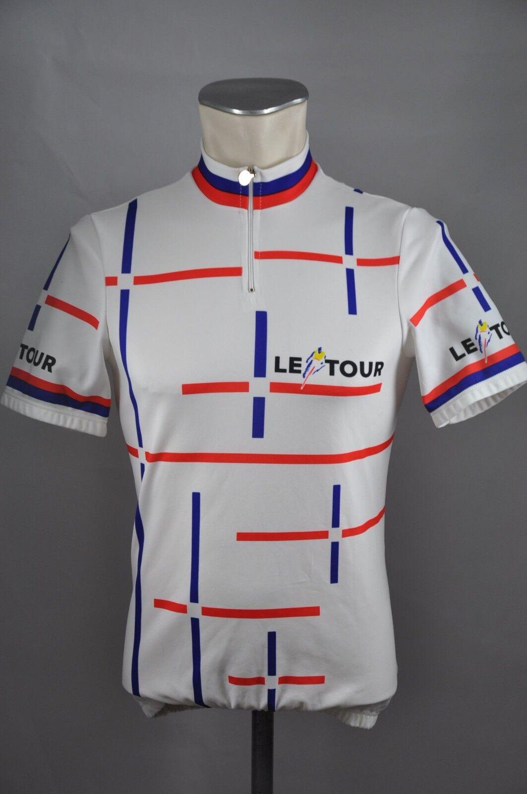 Castelli 80s le tour cycling jersey Fahrrad Trikot Bike Rad Gr. S 47cm B5