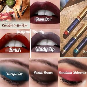 SeneGence-LipSense-ShadowSense-Cowgirl-Collection-Brick-GiddyUp-Turquoise
