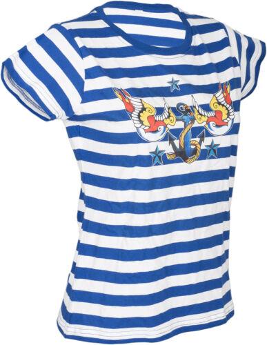 Küstenluder BELOVED SWALLOWS Nautical Anchor ANKER Shirt Rockabilly