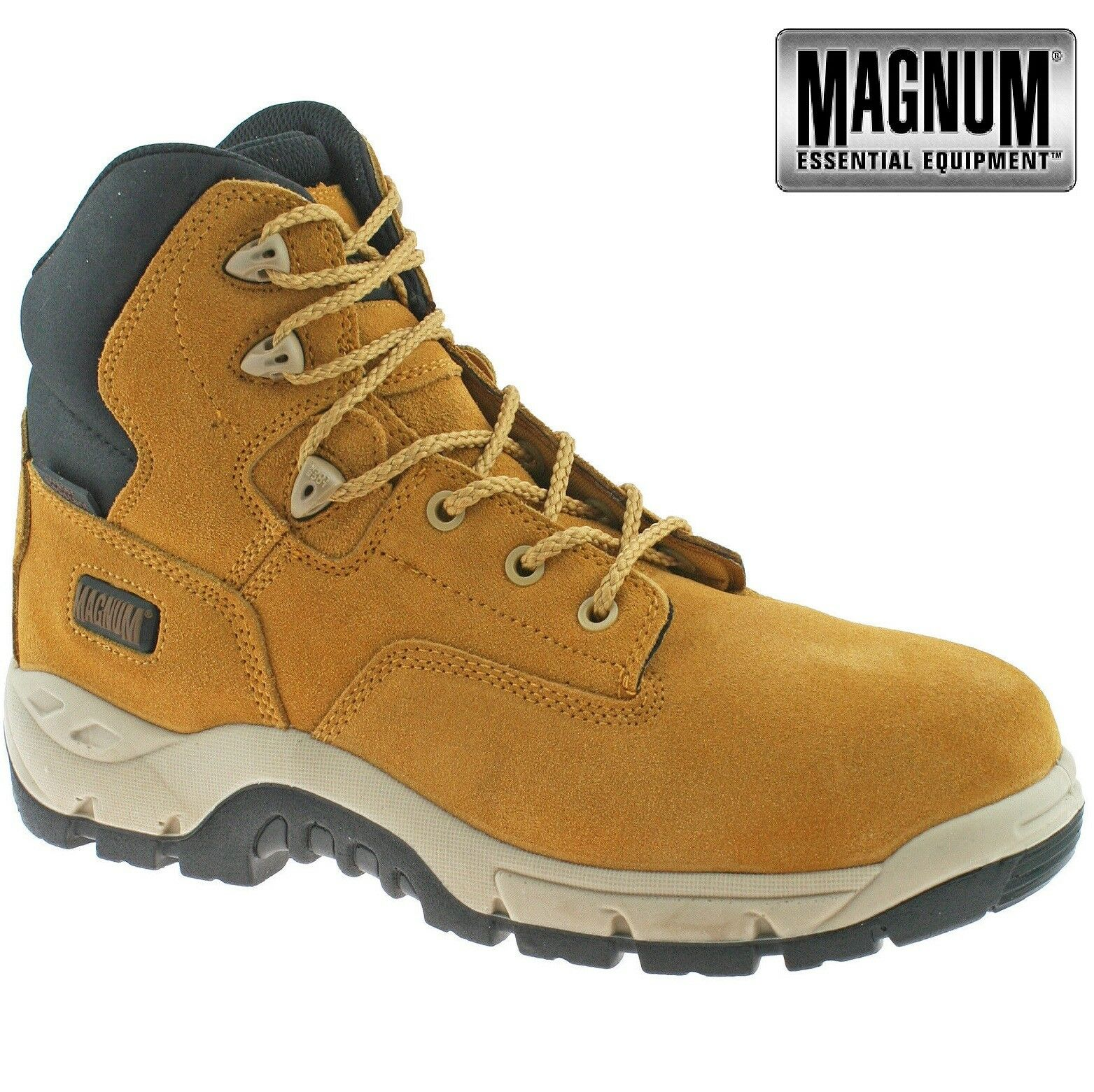 MENS MAGNUM SITEMASTER LEATHER WATERPROOF COMPOSITE SAFETY TOE CAP WORK WORK WORK Stiefel SZ e4fee9