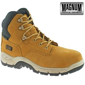 1209157083c Details about MENS MAGNUM SITEMASTER LEATHER WATERPROOF COMPOSITE SAFETY  TOE CAP WORK BOOTS SZ