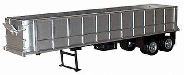 BLACK CATTLE TRAILER PROMOTEX 1//87 Truck Accessory HO Scale
