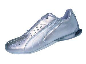 Puma Lowvitation Lux metallic silver Gr. 37 UK 4 Damen Sneaker Turnschuhe neu