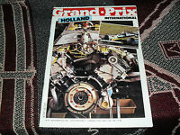 GRAND PRIX INTERNATIONAL - ISSUE 38 1981 - HOLLAND - RENAULT