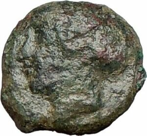 Syracuse-Sicily-425BC-Ancient-Greek-Coin-Nymph-Arethusa-DOLPHINS-i25265