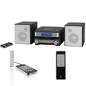 living room stereo system compact cd player stereo system remote mp3 am fm home 15804