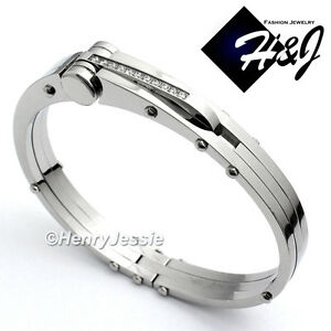 Image Is Loading Men 039 S Stainless Steel 0 33 Carat