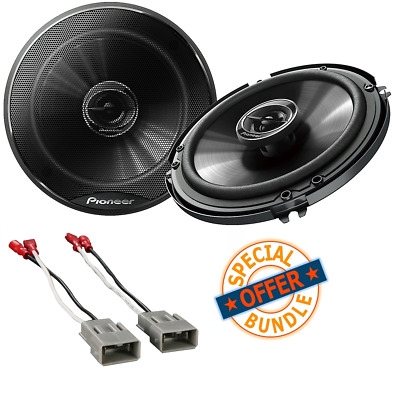 "PIONEER TS-G1620F 6.5/"" 2-Way Car Audio Speakers 250 W 6-1//2 Inch"