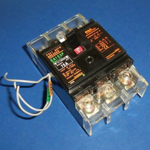 FUJI ELECTRIC 3-POLE 75A AUTO BREAKER CIRCUIT BREAKER EA103F