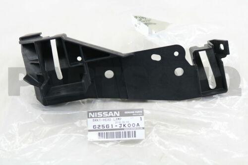 62561JK00A Genuine Nissan BRKT-HEAD LAMP 62561-JK00A
