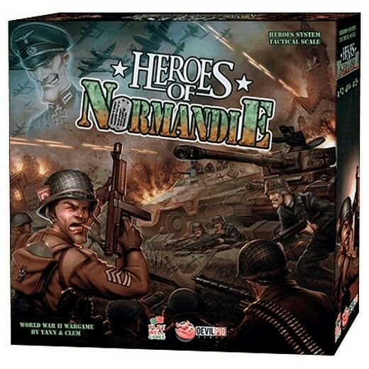Heroes of Normandie - Core Set - Spiel von Strategia - Neu, Italiano