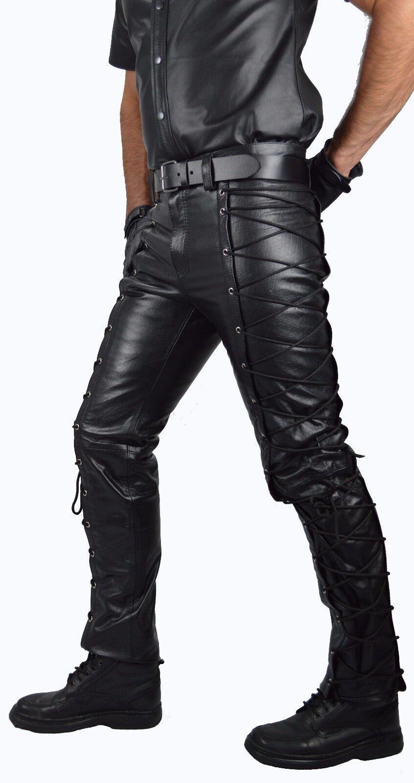 AW-721 zum schnürn lederhose, lace up up up leather trousers en cuir,Echt leder hose,   Spielen Sie auf der ganzen Welt und verhindern Sie, dass Ihre Kinder einsam sind  75894c