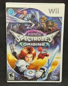 Disney Spectrobes Origins - Nintendo Wii Wii U Game 1 Owner CLEAN Mint Disc !