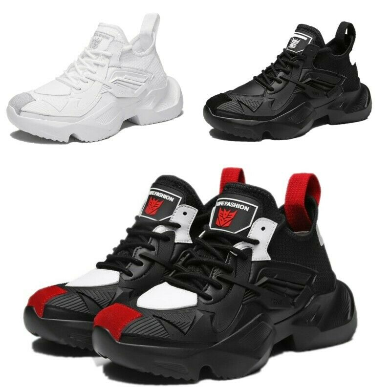 Mens Fashion Basketball shoes Lace Up Breathable Mesh Sport shoes Athleticshoes
