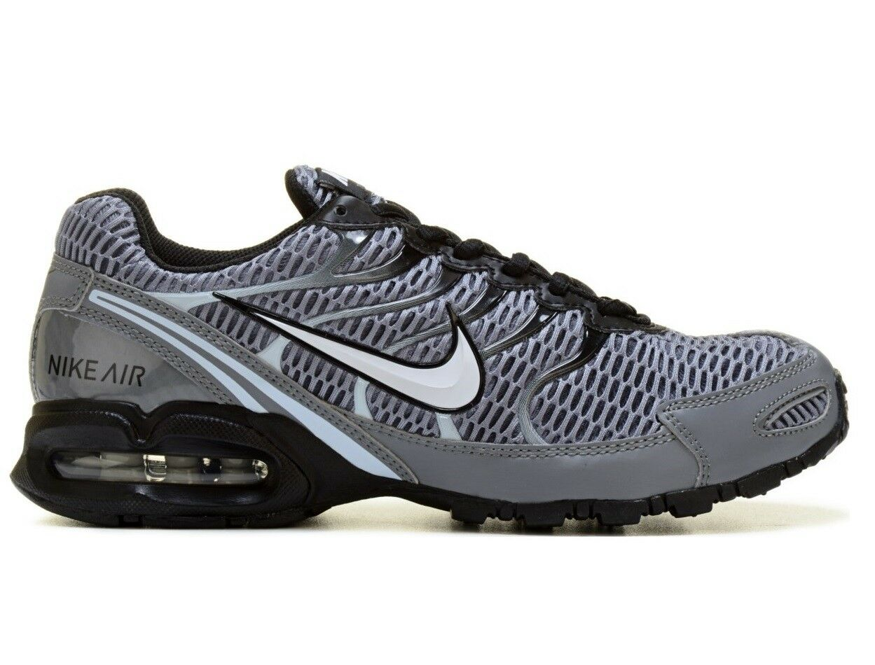 Nike Air Max Torch 4 Mens 343846-012 Cool Grey Black Running shoes Size 9.5