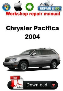 chrysler pacifica 2004 workshop repair manual ebay rh ebay com 2004 Chrysler Pacifica Recalls 2004 Chrysler Pacifica AWD