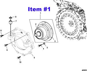 Nib mercruiser diesel engine coupler coupling 805684a2 for image is loading nib mercruiser diesel engine coupler coupling 805684a2 for sciox Choice Image