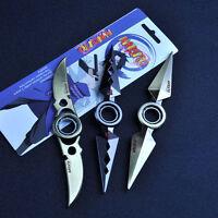 Metal Fidget Hand Spinner Naruto Ninja Tringle Spin Sword Adhd Stress Kids Toy