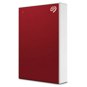 Seagate One Touch HDD 5TB External Hard Drive Red (STKC5000403)