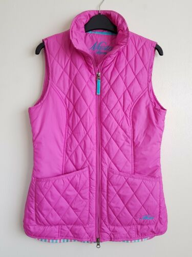 Worn Hardly Quilted 10 Jacket Gilet Size Pink Ladies Signature Musto 4nqPAA