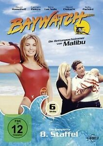 Baywatch-Complete-Season-8-6-DVD-Box-Set-David-Hasselholf-Carmen-NEW