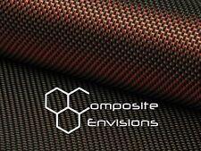 "Red Reflections™ Carbon Fiber Cloth Fabric Plain Weave 40"" 3k 5.7oz"