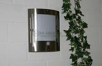 Aussenlampe Mit Bewegungsmelder + Schalter Für Dauerlicht Edelstahl Led