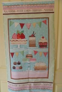 Cotton-Cot-Quilt-Panel-Wall-Hanging-with-Cakes-Meringues-Truffles-60-x-112-cm