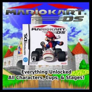 Unlocked Mario Kart Ds All Characters Cups Stages Nintendo