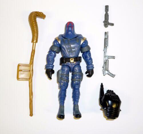 v13-A 2002 Gi joe cobra commander figurine complet 3 3//4 C9
