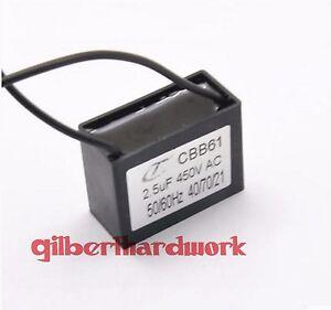 5pcs-CBB61-2-5UF-450V-Ceiling-Fan-Capacitor-start-capacitor