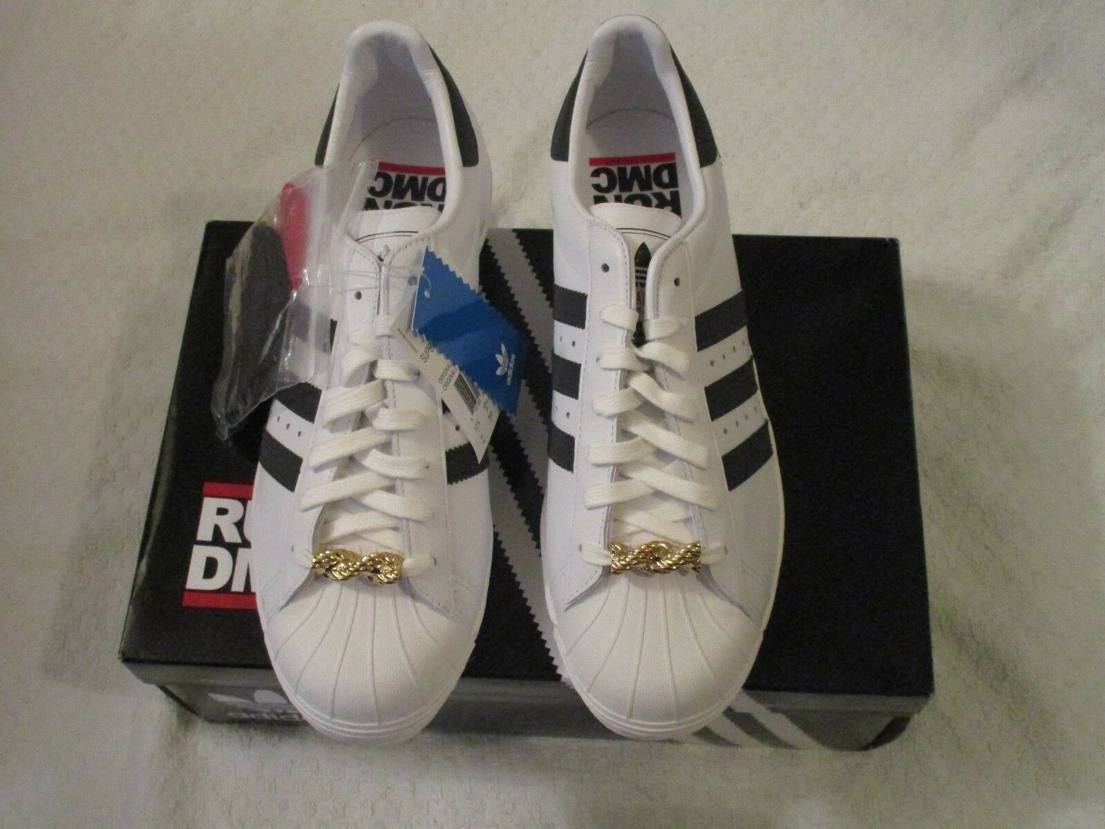 My Adidas SUPERSTAR 80s RUN DMC 25th Anniversary Originals G48910 Size 11