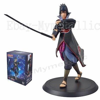 """Naruto Shippuden XTRA 01 Sasuke Uchiha 18cm / 7.2"""" Figure Statue New In Box"""