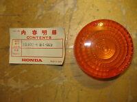 Honda Cb450sc Rear Signal Lens Cb 450 250 33402-kb4-003 1986 Jtw