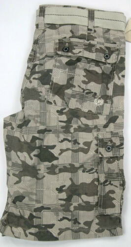 Phat Farm Cargo Shorts  Camouflage Grey 100/% Cotton PhatFarm Cargo Shorts